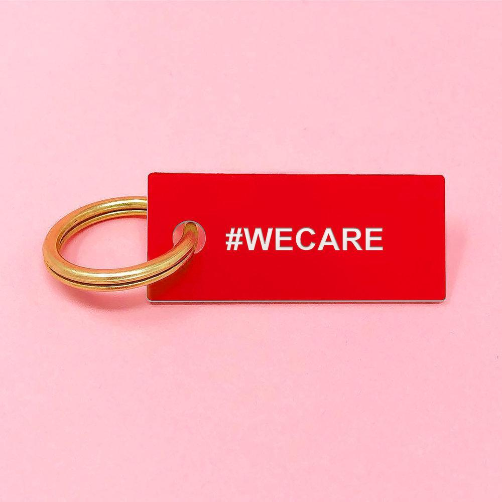 #WECARE Keychain Red/Blk/Pnk/Yel/Gold - Monsoon Ridge