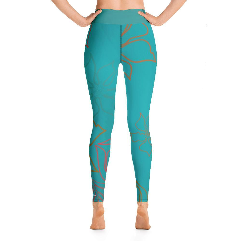 Active Comfort Sport Aloha Full Length Leggings