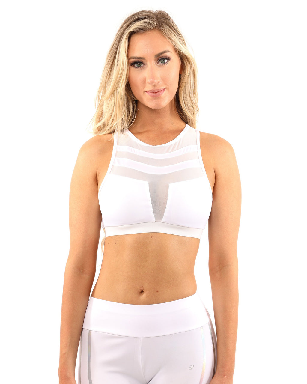Laguna Sports Bra - White - olivias-room-boutique