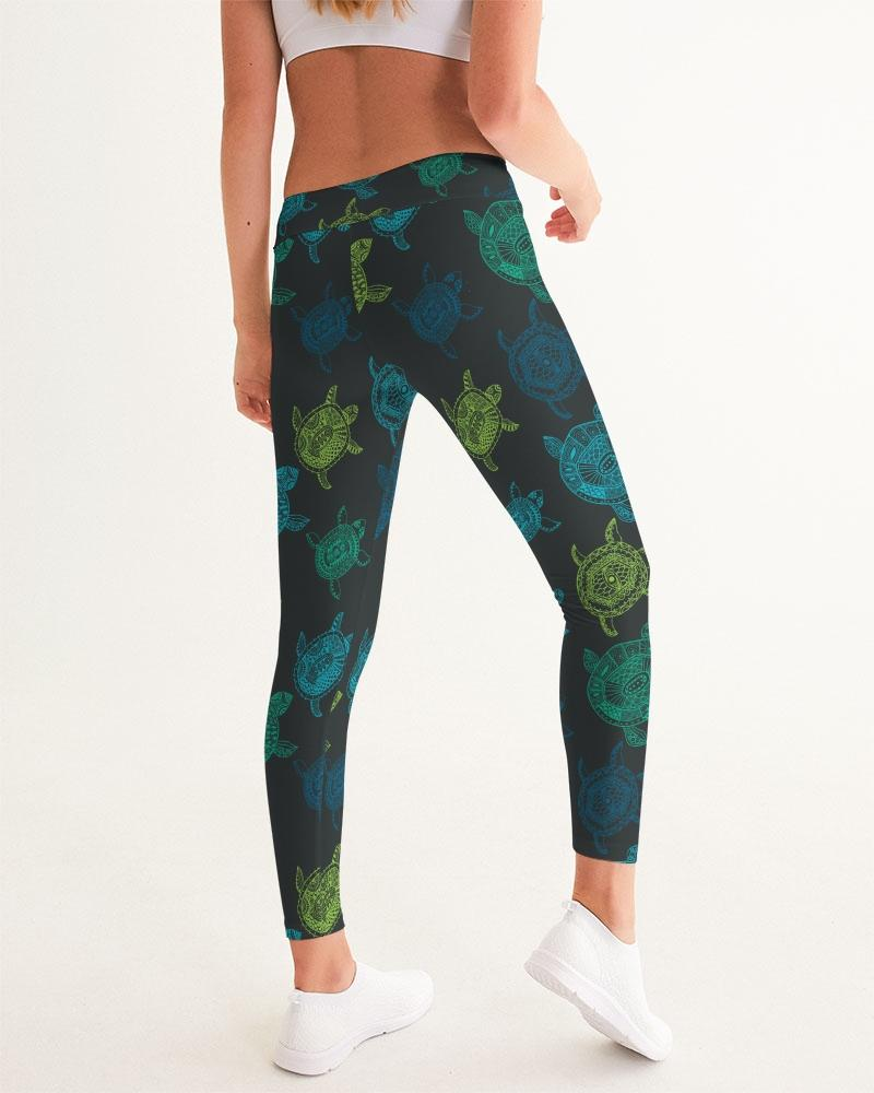 Sea Turtle Sport Yoga Pant