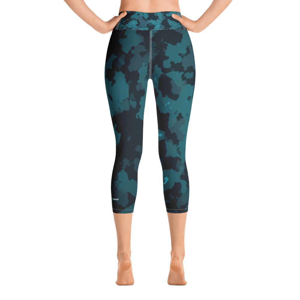Active Comfort Sport O.U.R. Outdoors Camo Capri Leggings - Monsoon Ridge