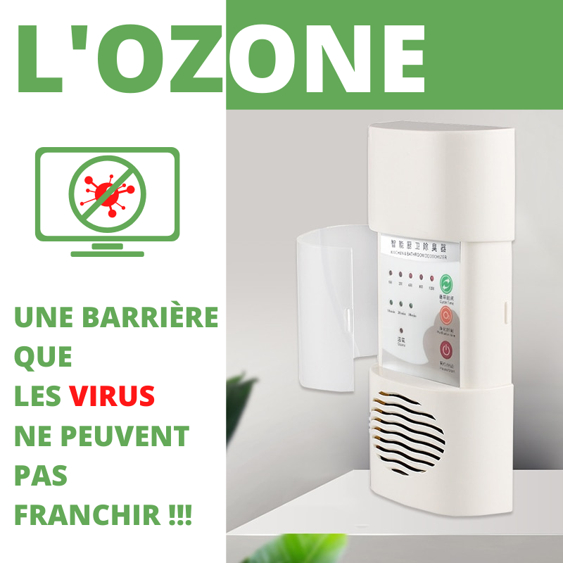 Purificateur Ozone 3 en 1 Unicare