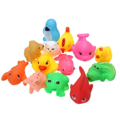 Image of Set Of Animal Bath Toys