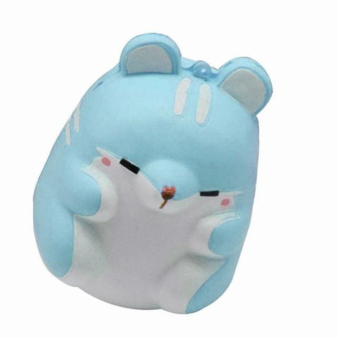 Hamster Squishy - Blue / China