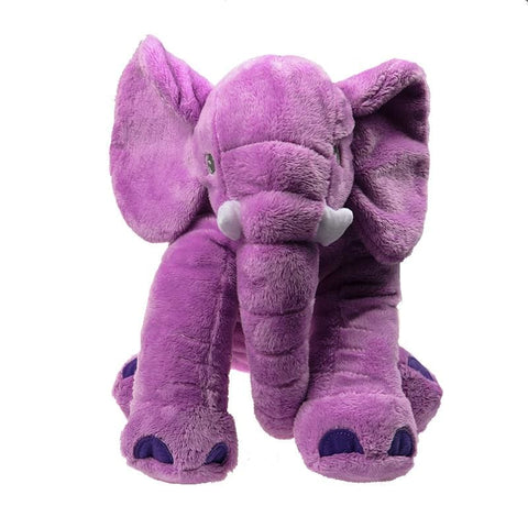 Plush Elephant - 40 Cm / Purple