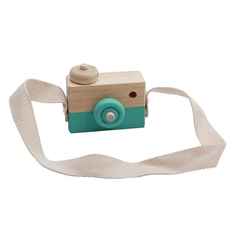 Image of Wooden Camera - Green