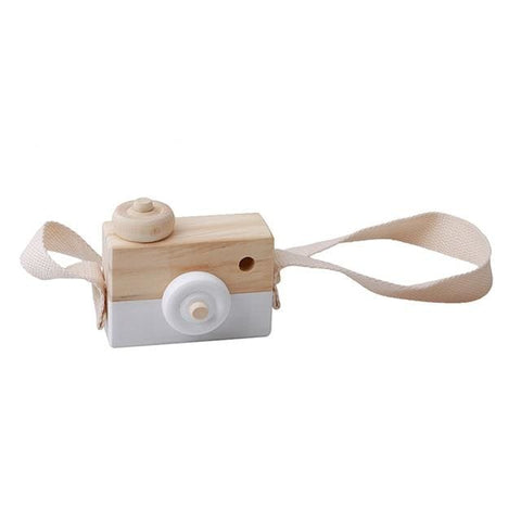 Wooden Camera - White