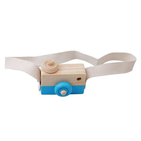 Image of Wooden Camera - Blue