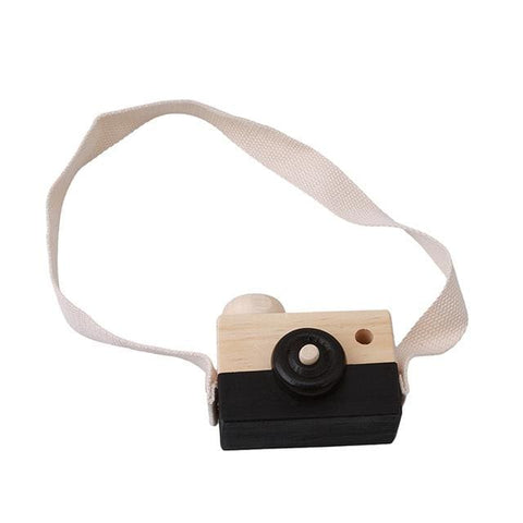 Image of Wooden Camera - Black