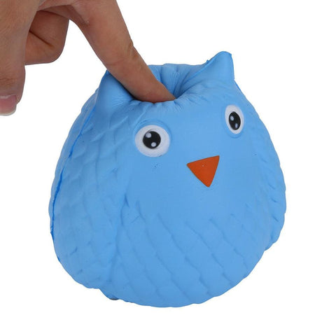 Image of Blue Owl Squishy