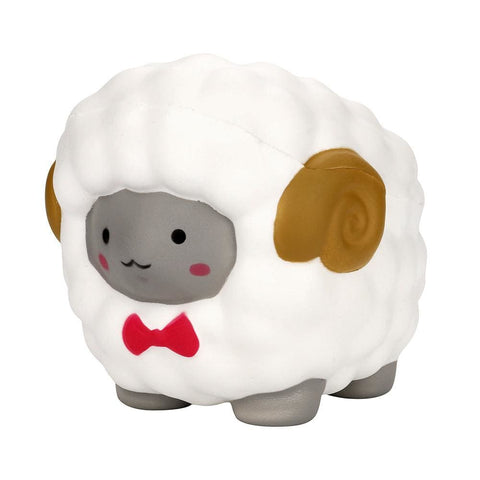 Image of Bow Sheep Squishy - White