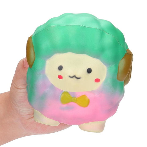 Bow Sheep Squishy - Pink