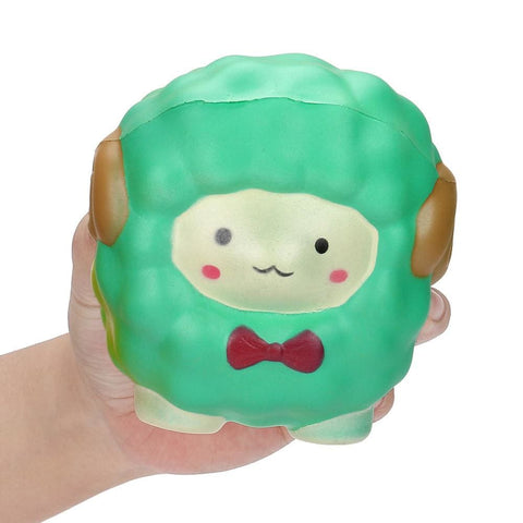 Image of Bow Sheep Squishy - Green