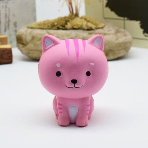 Cat Squishy - Pink