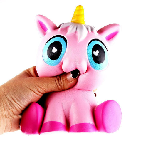 Pink Unicorn Squishy