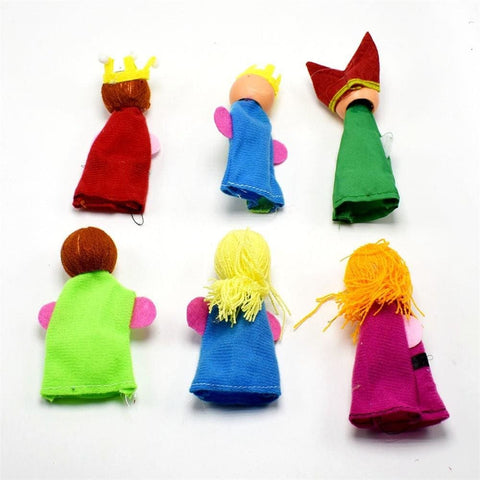 Image of King And Children Finger Puppets