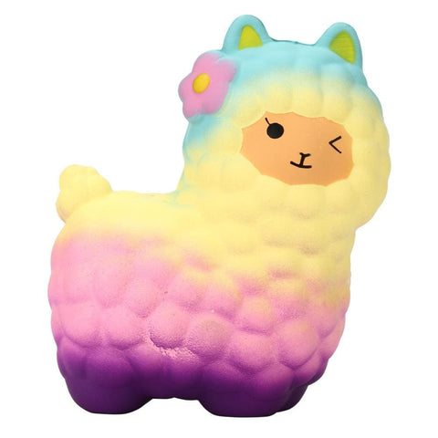 Multicoloured Sheep Squishy