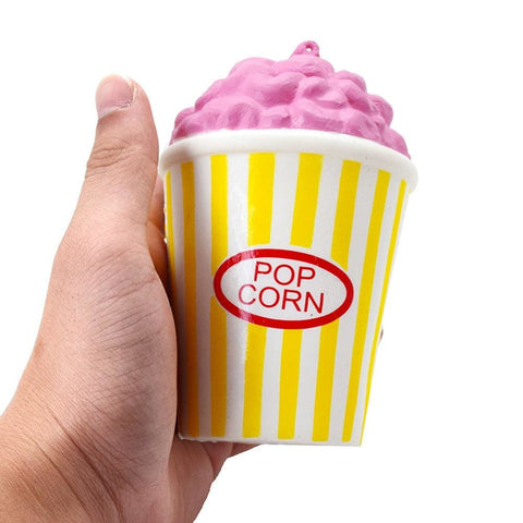 Popcorn Cup Squishy - Yellow