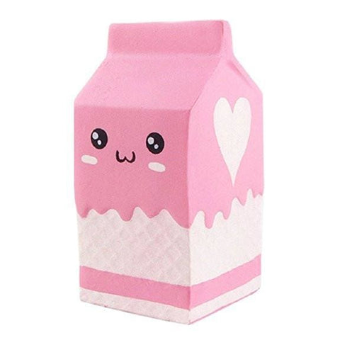 Yogurt Milk Squishy - Pink