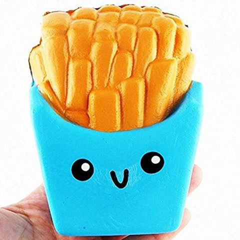 French Fries Squishy - Blue