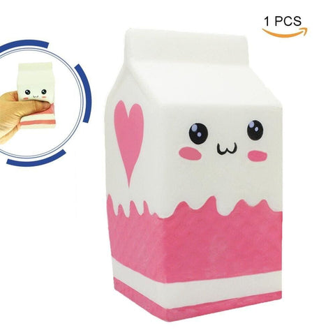 Yogurt Milk Squishy - White