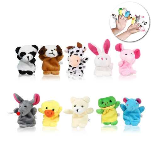 Image of Animal Finger Puppets