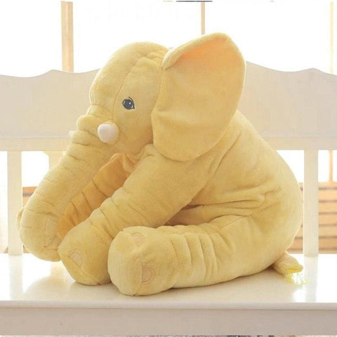 Image of Plush Elephant - 55 Cm / Yellow