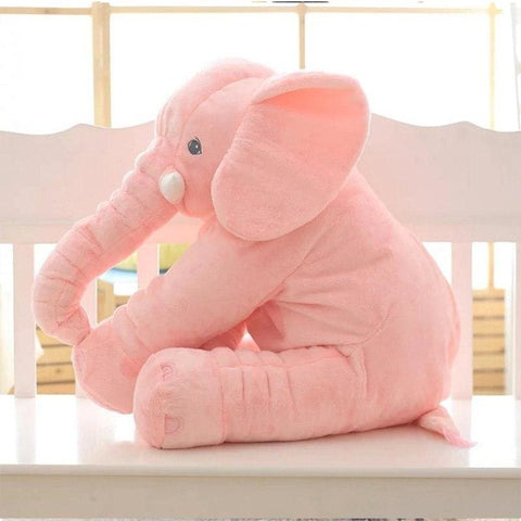 Image of Plush Elephant - 55 Cm / Pink