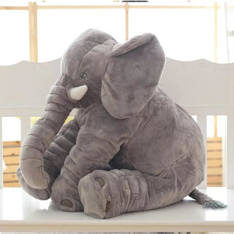 Plush Elephant - 55 Cm / Gray