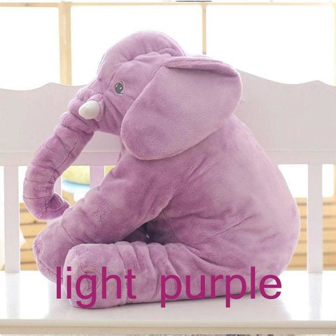 Plush Elephant - 55 Cm / Purple