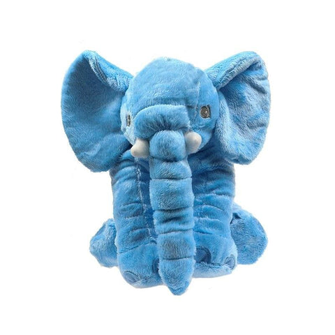 Plush Elephant - 40 Cm / Blue