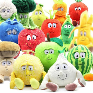 Large Selection Of Fruits & Vegetables Plush Toy