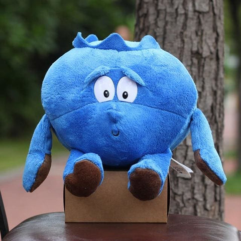 Large Selection Of Fruits & Vegetables Plush Toy - Blueberry