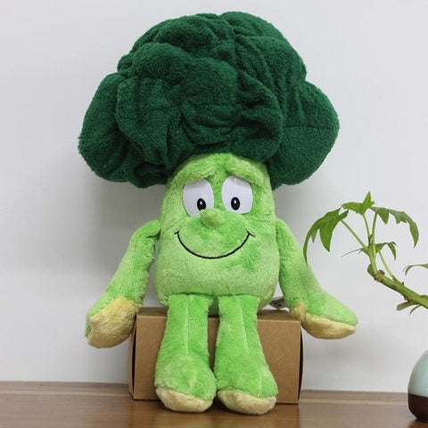 Large Selection Of Fruits & Vegetables Plush Toy - Broccoli