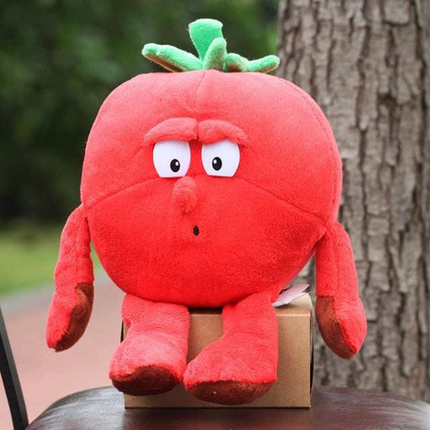 Large Selection Of Fruits & Vegetables Plush Toy - Strawberry