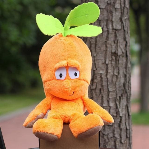 Large Selection Of Fruits & Vegetables Plush Toy - Carrot