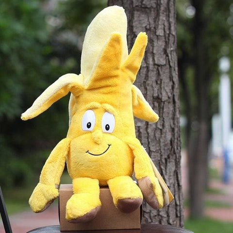 Large Selection Of Fruits & Vegetables Plush Toy - Bannana