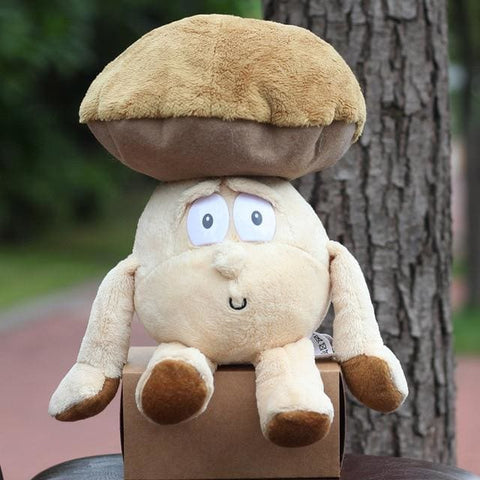 Large Selection Of Fruits & Vegetables Plush Toy - Mushroom