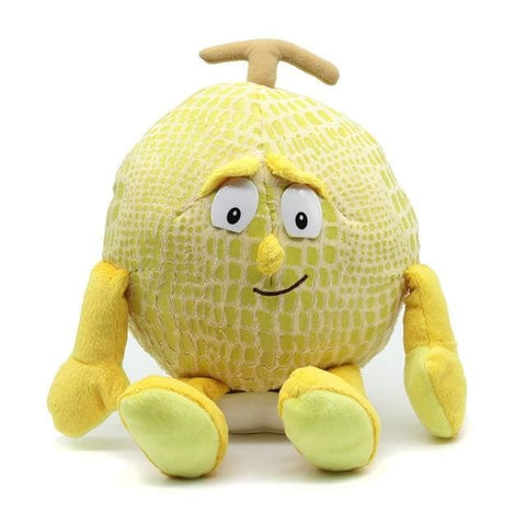 Large Selection Of Fruits & Vegetables Plush Toy - Light Yellow