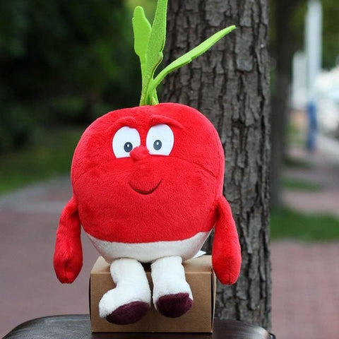 Large Selection Of Fruits & Vegetables Plush Toy - A005 25Cm