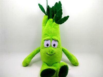 Large Selection Of Fruits & Vegetables Plush Toy - Light Green