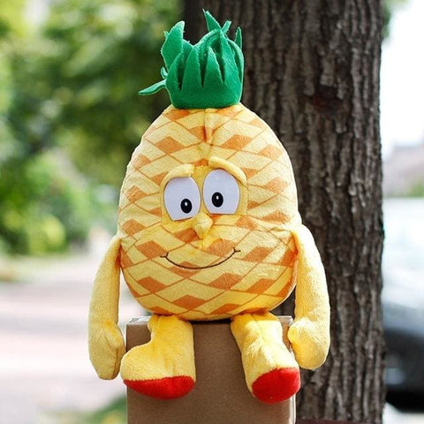 Large Selection Of Fruits & Vegetables Plush Toy - Pineapple