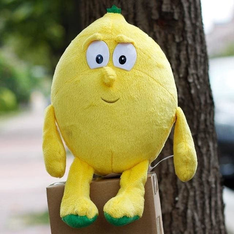 Large Selection Of Fruits & Vegetables Plush Toy - Lemon