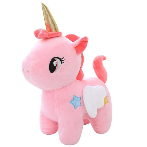 Plush Unicorn With Wings