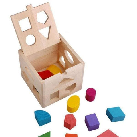 Image of Wooden Shape Sorter