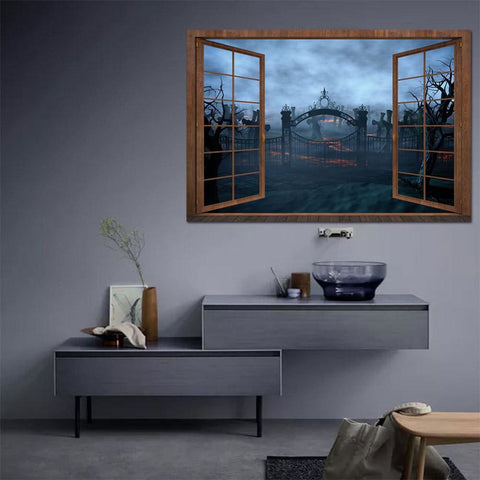 Image of Halloween Wall Sticker - A