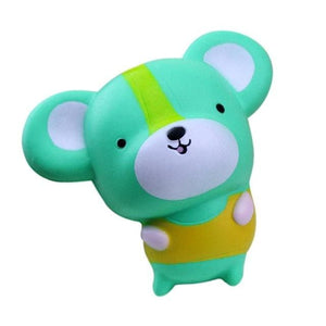 Cute Mouse Squishy - Green / China