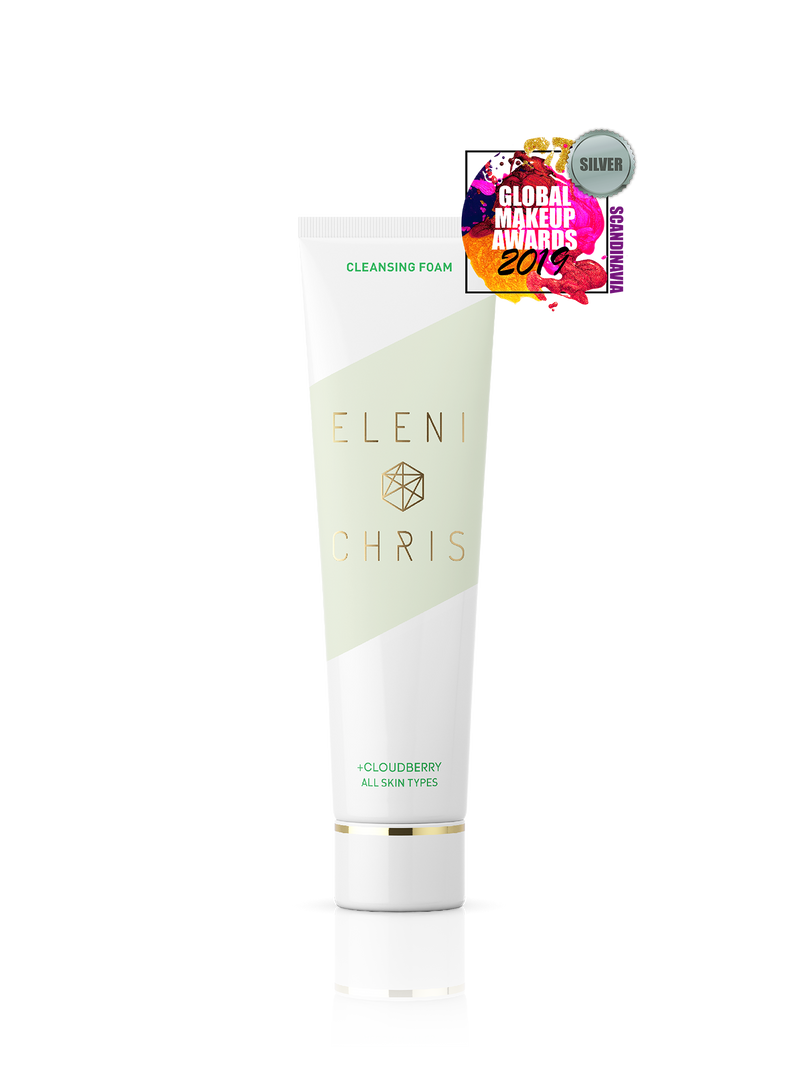 Cleansing Foam award-winning badge