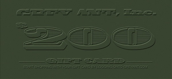 GREY ANT GIFT CARDS