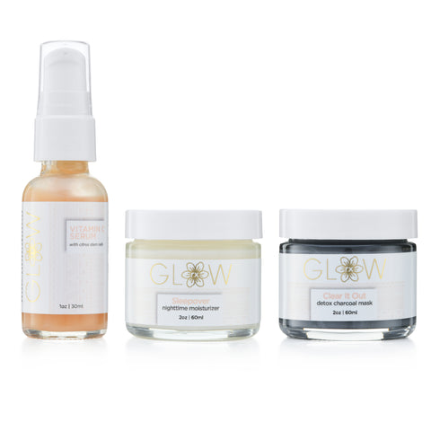 GlowRx Skincare Bundle Set of 3
